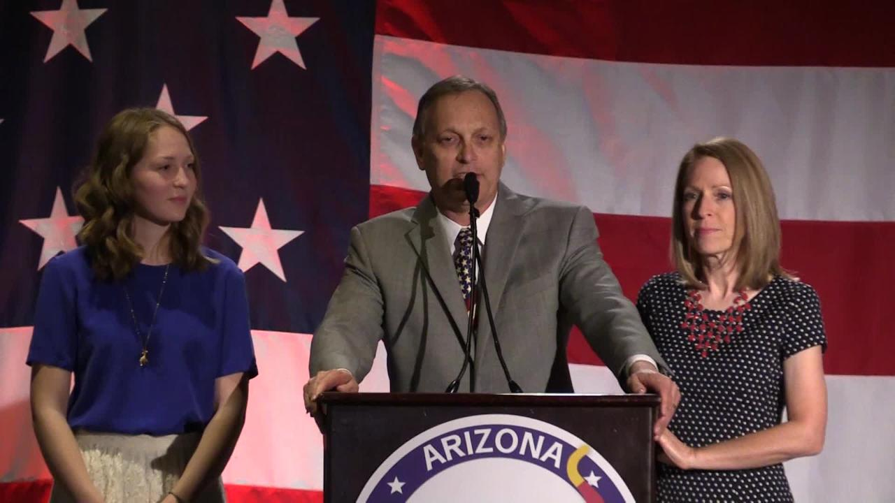 Andy Biggs speaks to Republican Party after win