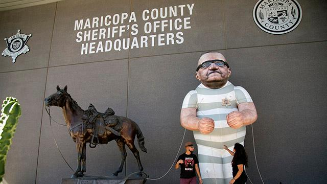 Bazta campaign speaks against Joe Arpaio after re-election defeat