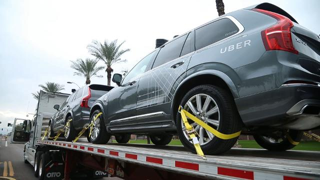Self-driving Uber cars arrive in Arizona