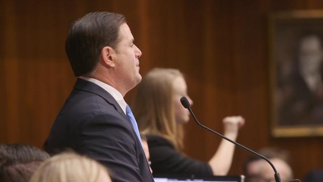 Gov. Doug Ducey touts action on rape-kit testing in State of the State address