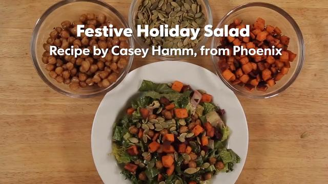 Food for Reel: Festive holiday salad