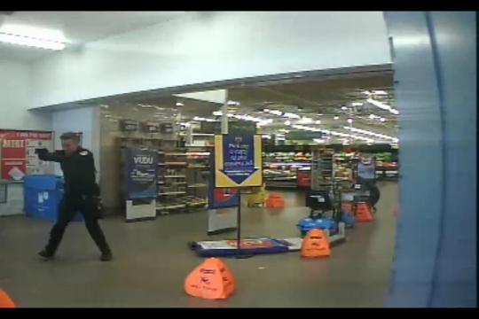 Surveillance video shows Chandler Walmart shooting