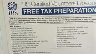 Free in-person tax-filing help
