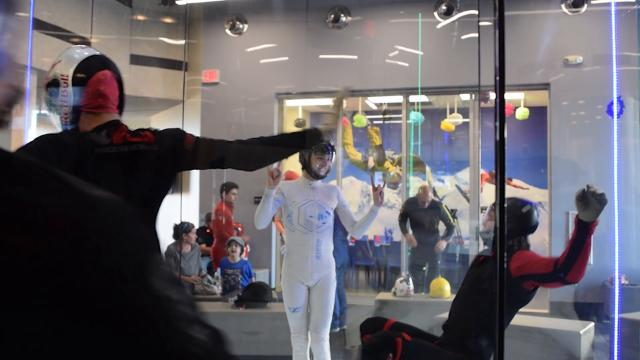 What's up with indoor skydiving?