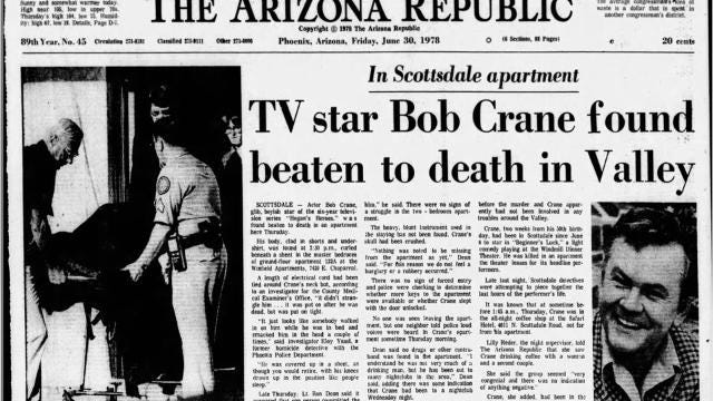 Crane death bob actor