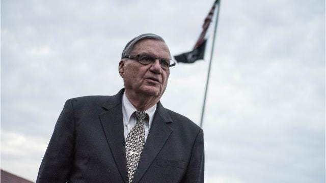 Arpaio back in action