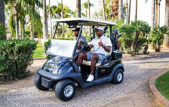 Patrick Peterson talks about his golf tournament