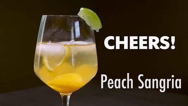 Too many ripe peaches? Try homemade sangria