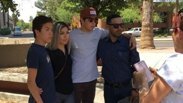 Mesa man reunites with family, still may face deportation