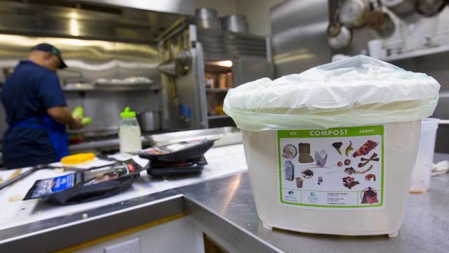 City of San Francisco reaches for zero waste