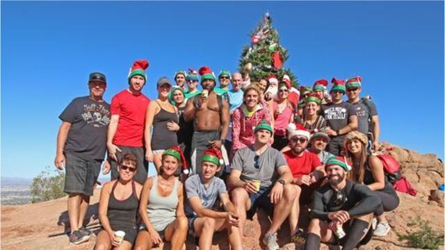 The Christmas tree conflict on Camelback Mountain