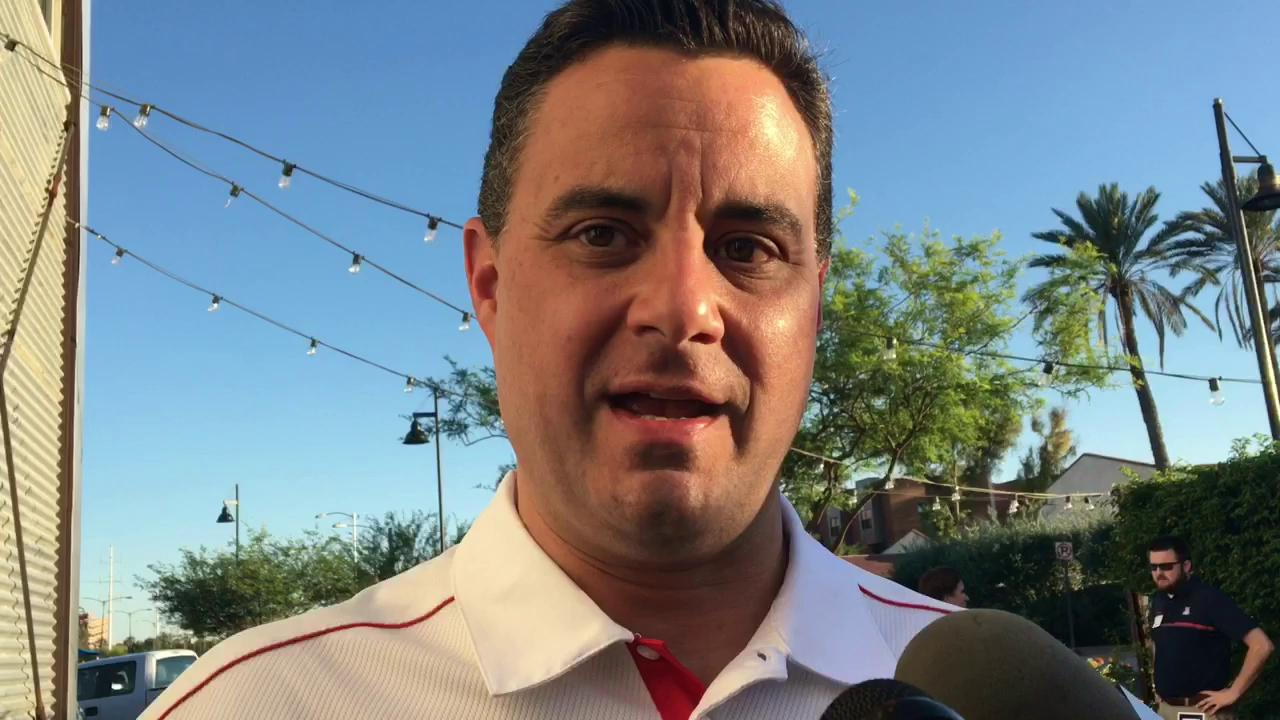 Arizona basketball coach Sean Miller discusses the expectations on his team.