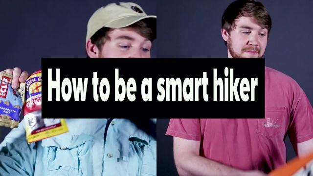 How to be a smart hiker