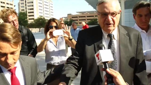 Arpaio's criminal contempt trial begins