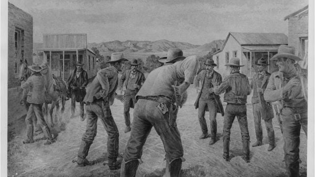 The story of the gunfight at O.K. Corral