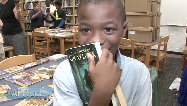 APP, foundation partner to bring books to Asbury Park