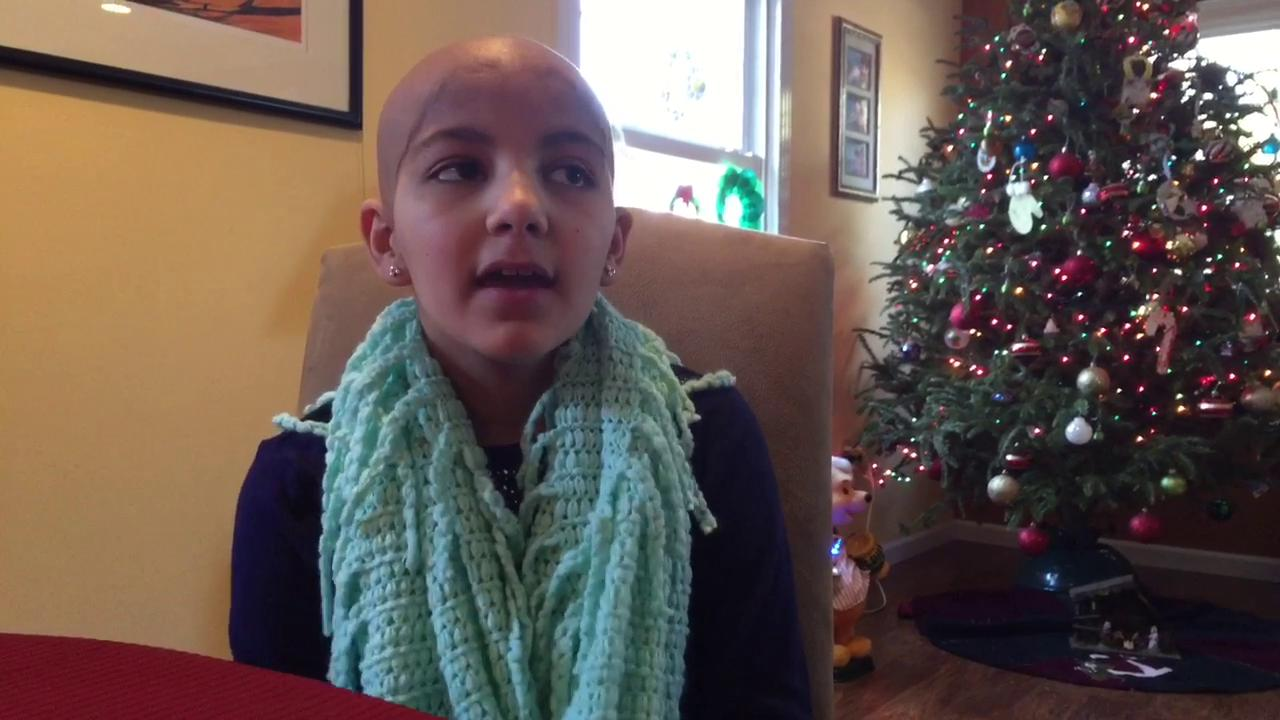 New Jersey girl with cancer meets Pope Francis