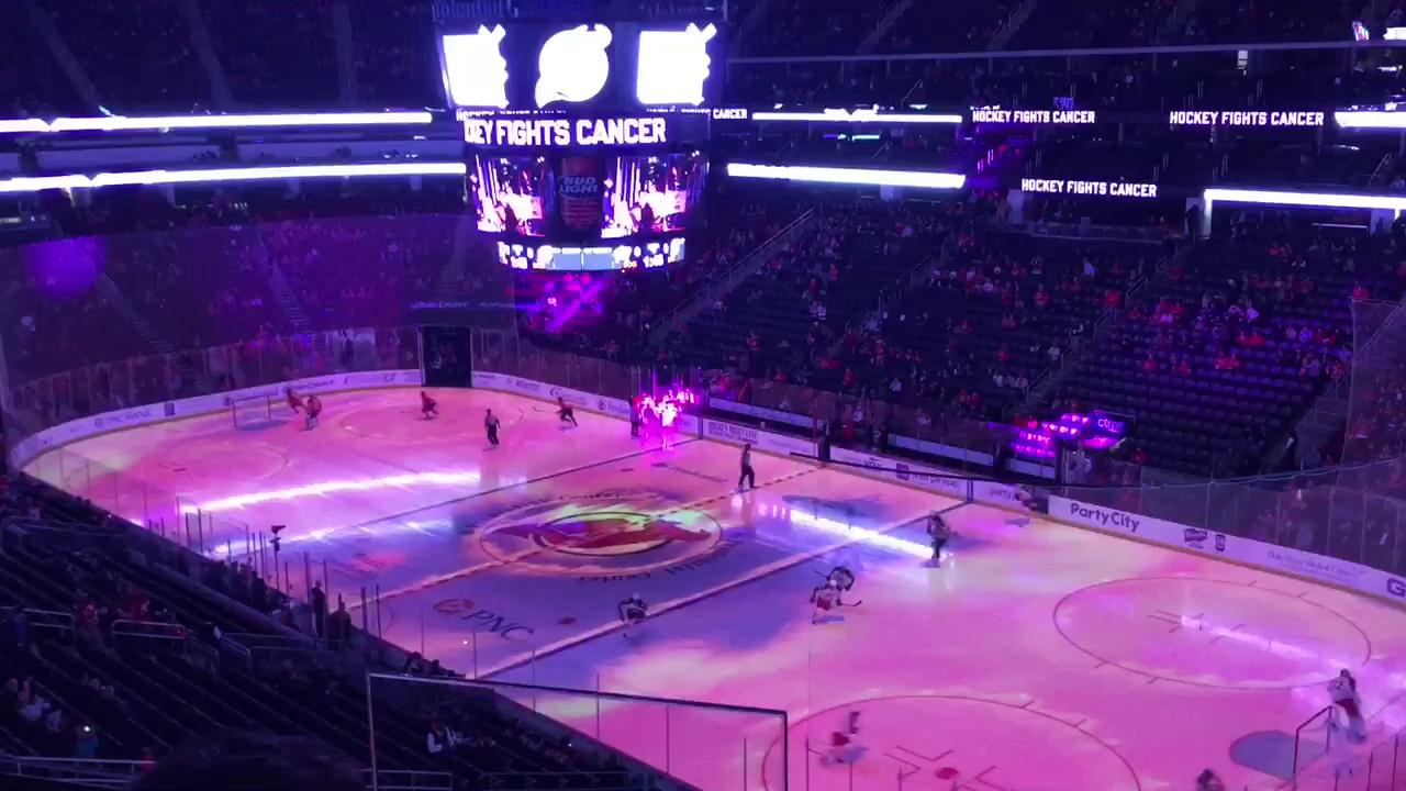 premium selection c8000 86cb4 Henrique, Palmieri help Devils fight cancer