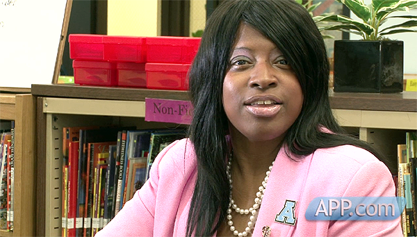 Breast cancer survivor Karma WIlliams-Davis
