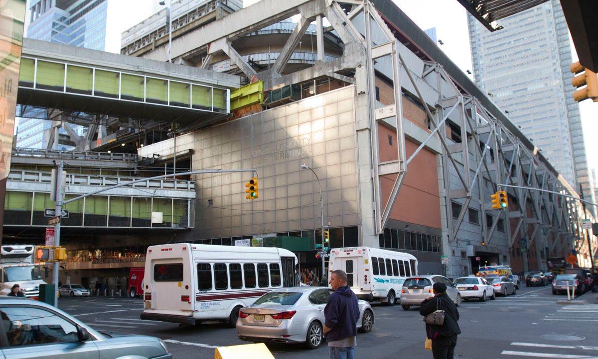 Plans for a new Manhattan bus terminal moving forward