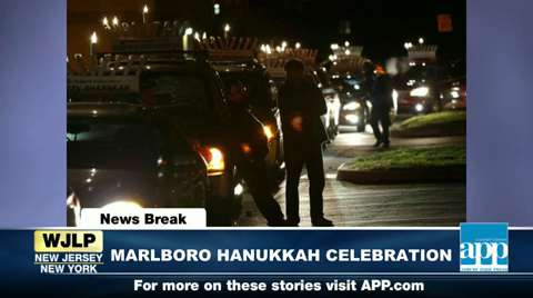 NewsBreak: Marlboro's Hanukkah celebration