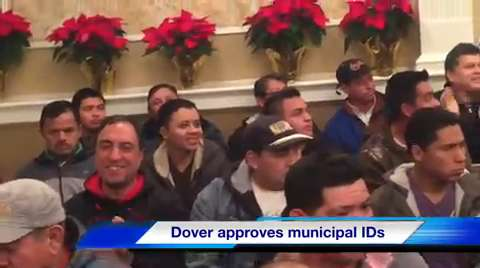 VIDEO: Dover approves municipal IDs