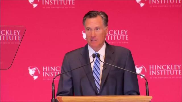 Romney: Third grade theatrics