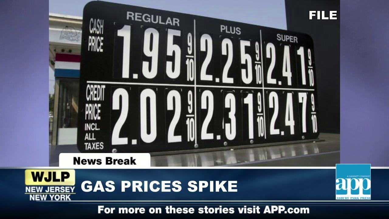 Newsbreak: Gas prices spike