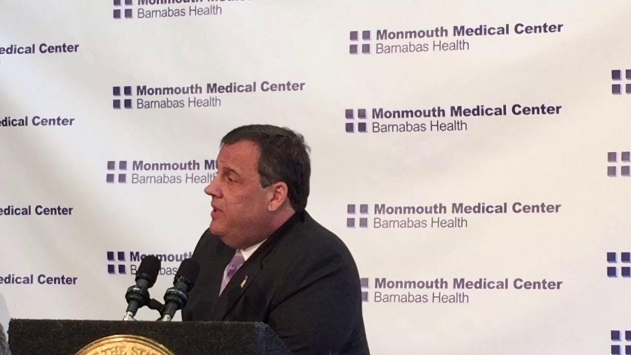 Christie on New Jersey's heroin recovery coach program
