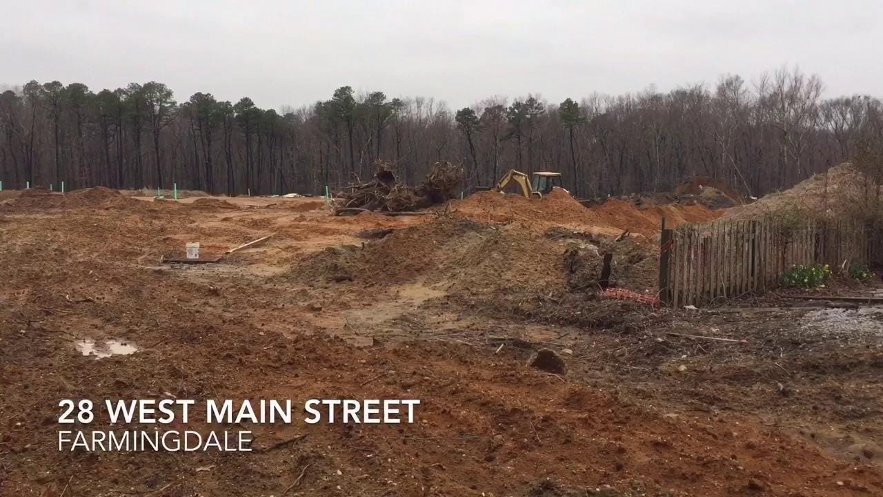 watch: new houses being built in farmingdale