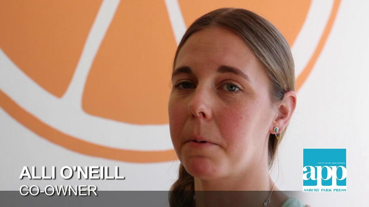 Kali-O's Juice Box opens in Point Pleasant Beach.  Staff video Tanya Breen