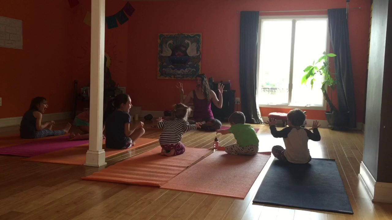Kids are fueled by imagination, and yoga can help them grow.