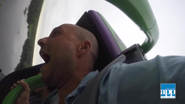 APP reporter Alex Biese took The Joker ride at Six Flags Great Adventure for a ride and came back wanting more. STAFF VIDEO BY PETER ACKERMAN