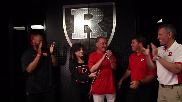 Rutgers football opens new strength and conditioning center