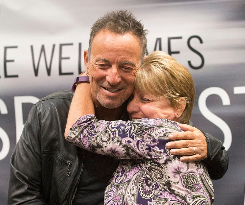 Springsteen greets thousands of fans in Freehold