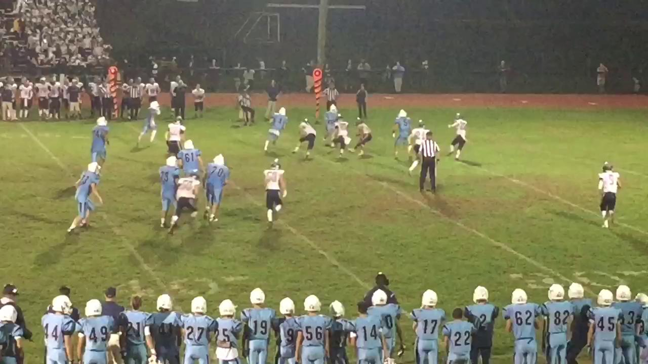 Raw video: Freehold Township hook & lateral TD