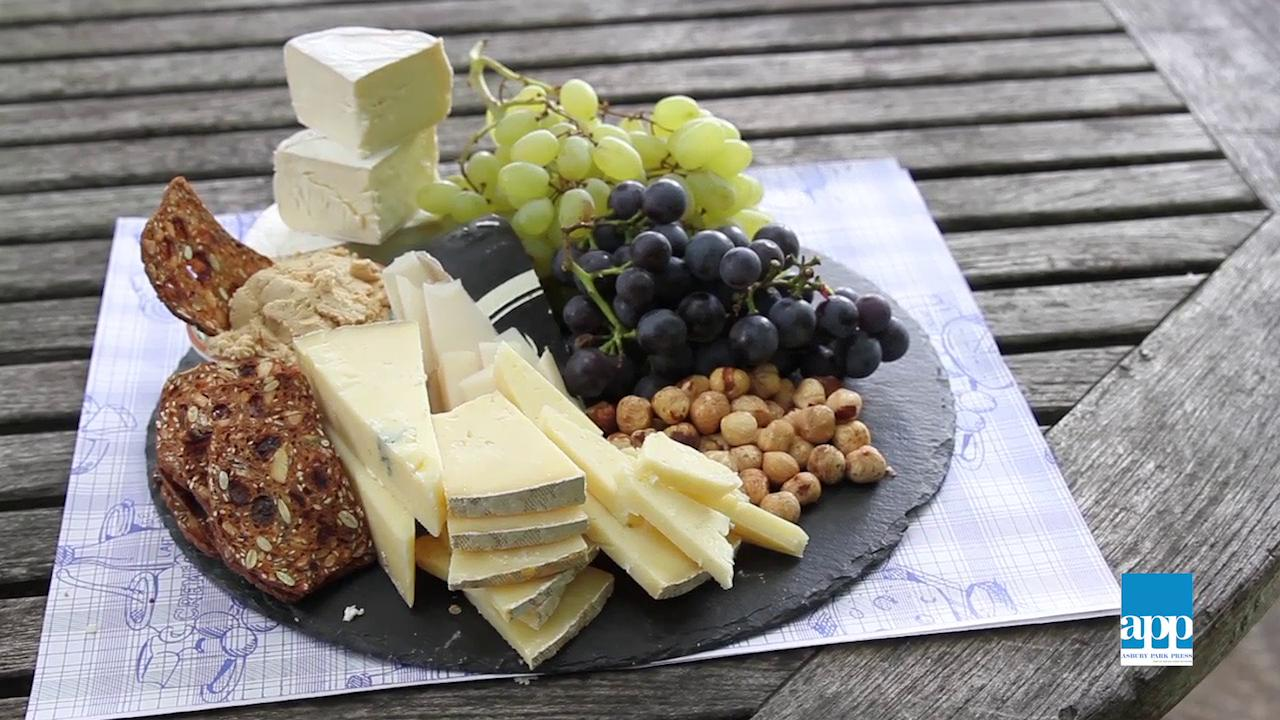 & New Jersey cheeses shape the perfect cheese plate