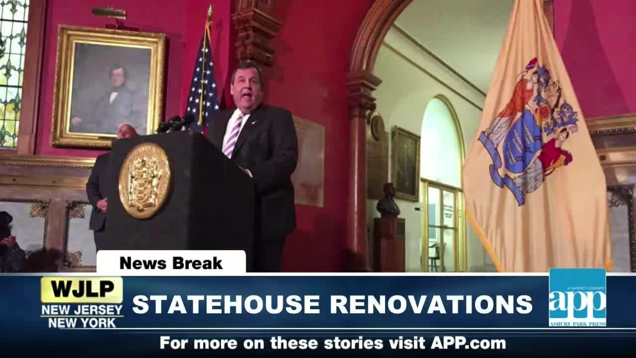 NewsBreak: Christie announces $300M State House renovations