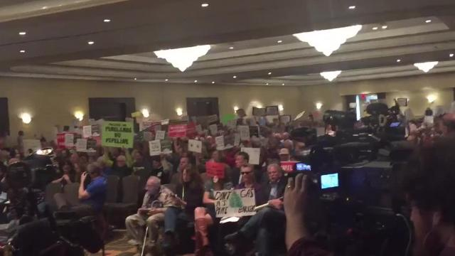 RAW VIDEO: Pinelands pipeline hearing