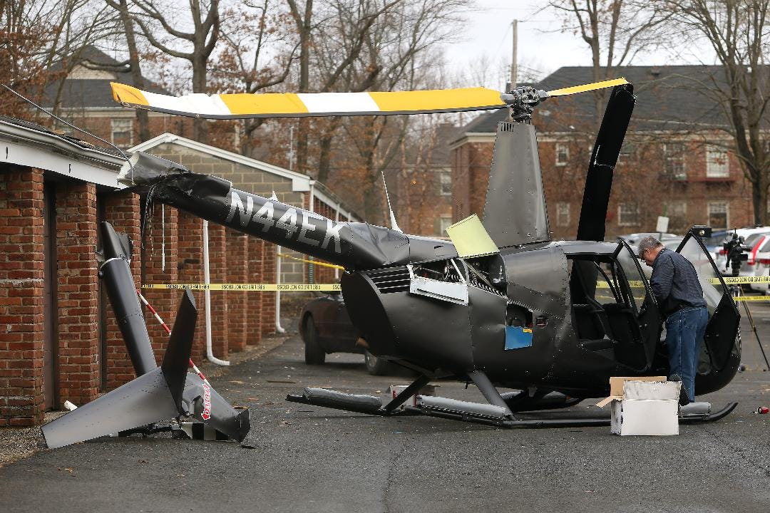 WATCH: FAA investigates helicopter hard landing in Chatham