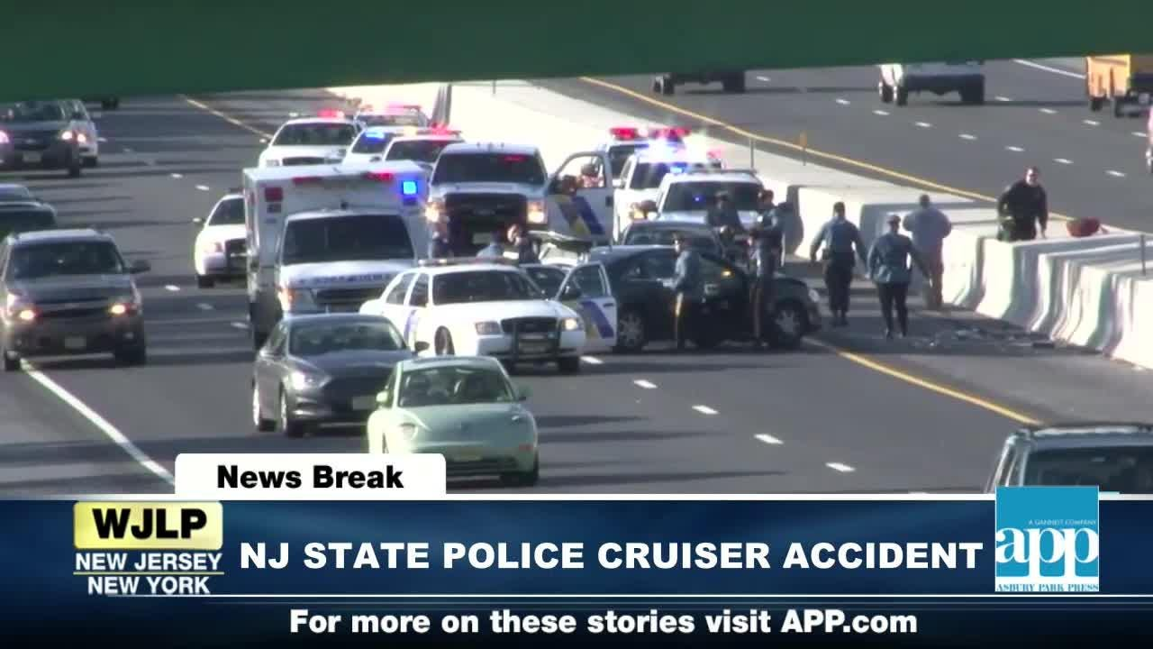 NewsBreak: Police cruiser involved in Brick Parkway accident