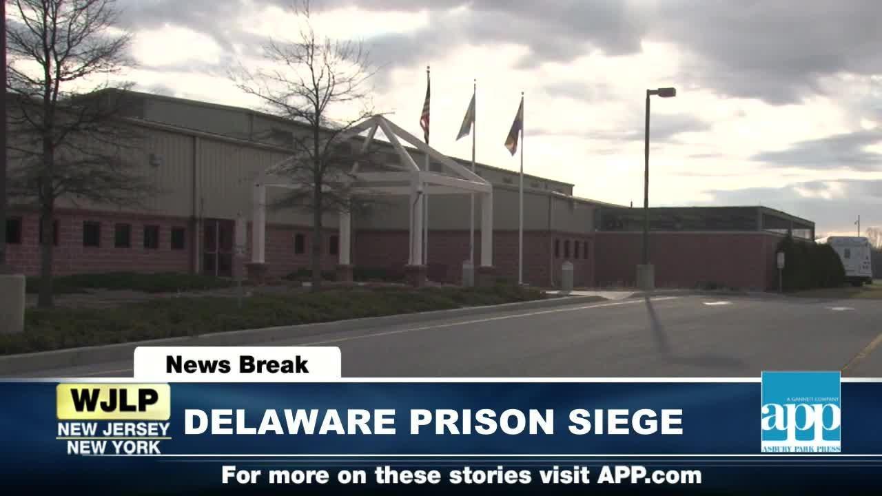 NewsBreaks: Delaware Prison hostage situation ends