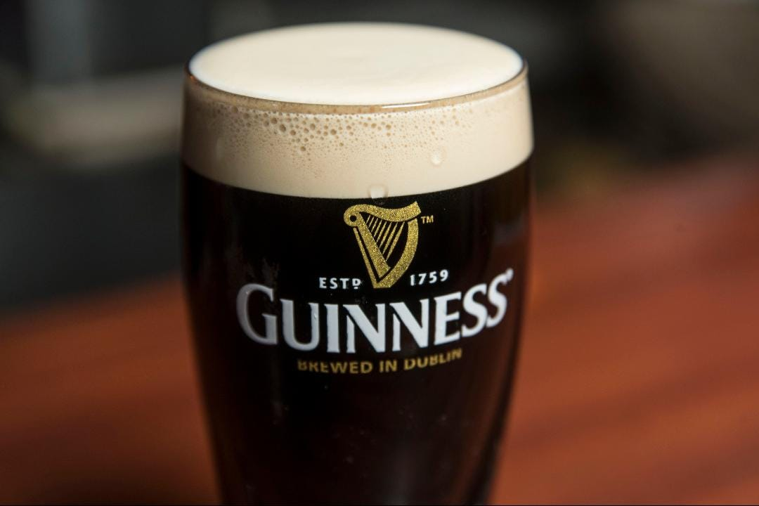 Kevin Kelly of Kelly's Tavern shows you how to pour a perfect Guinness out of the tap.