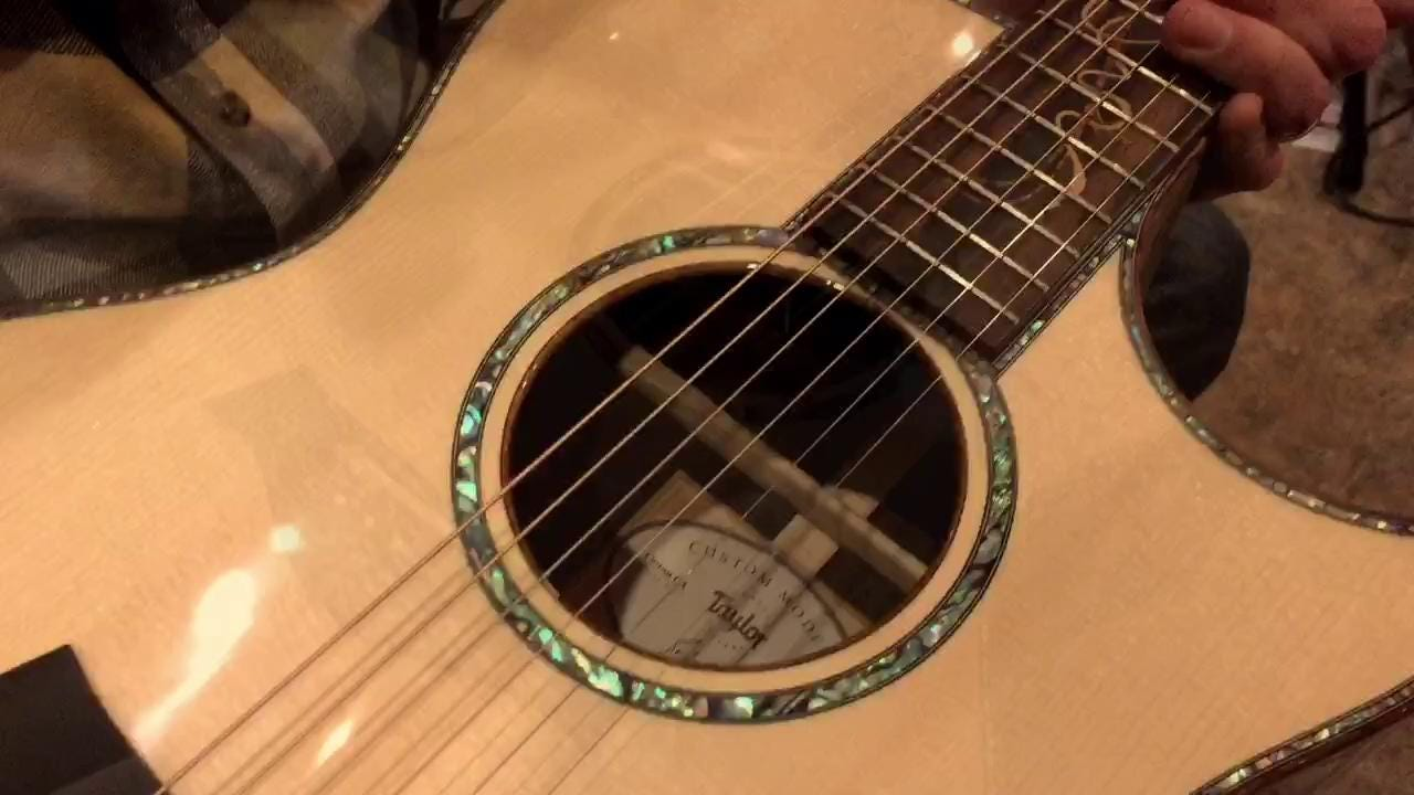 Listen To This 20000 Taylor Guitar