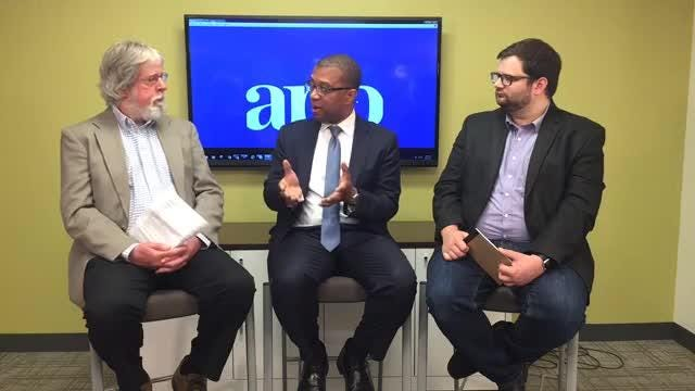WATCH: Gubernatorial candidate Jim Johnson takes your questions