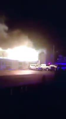 RAW VIDEO: Early morning fire in Lavallette