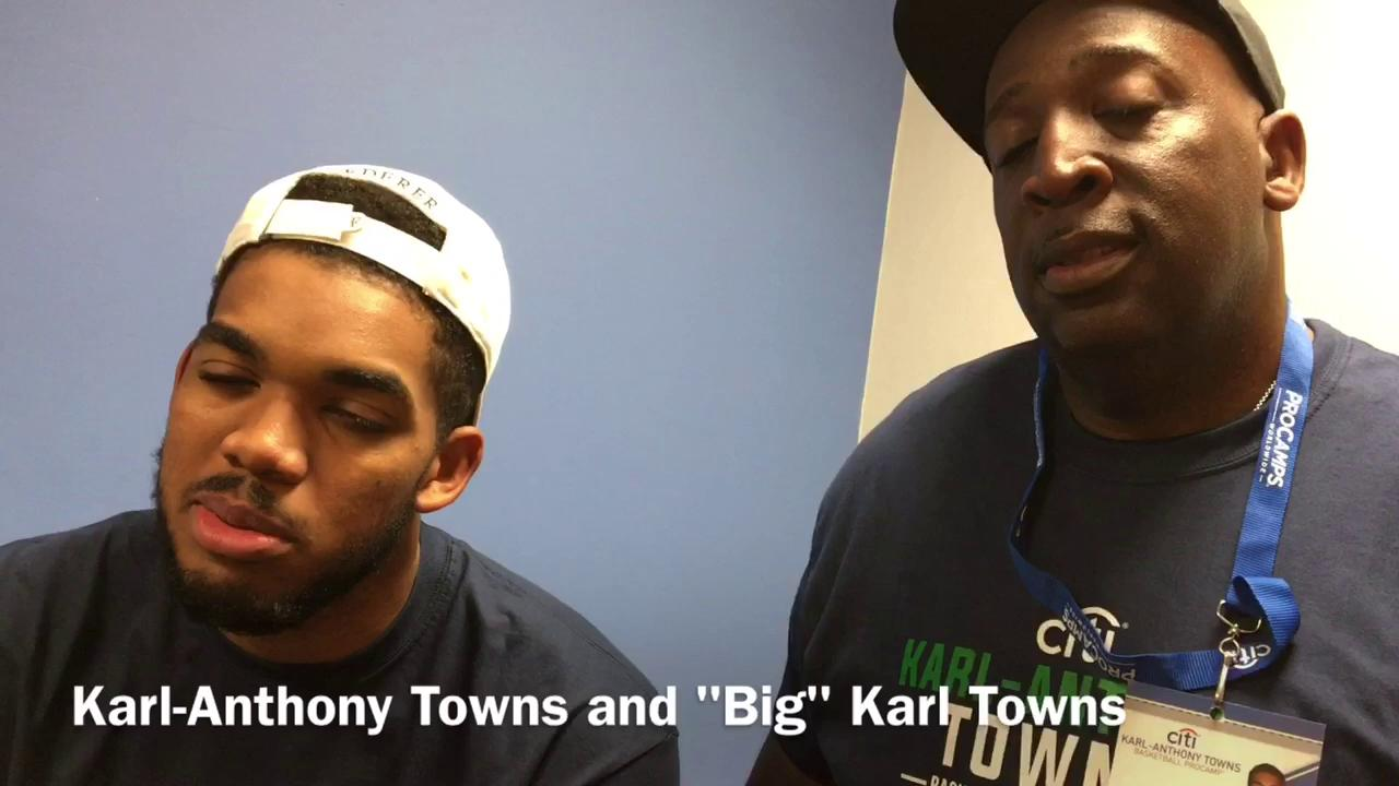 Karl Towns Supports Son S Firm Defense Of Lebron James In Trump Spat