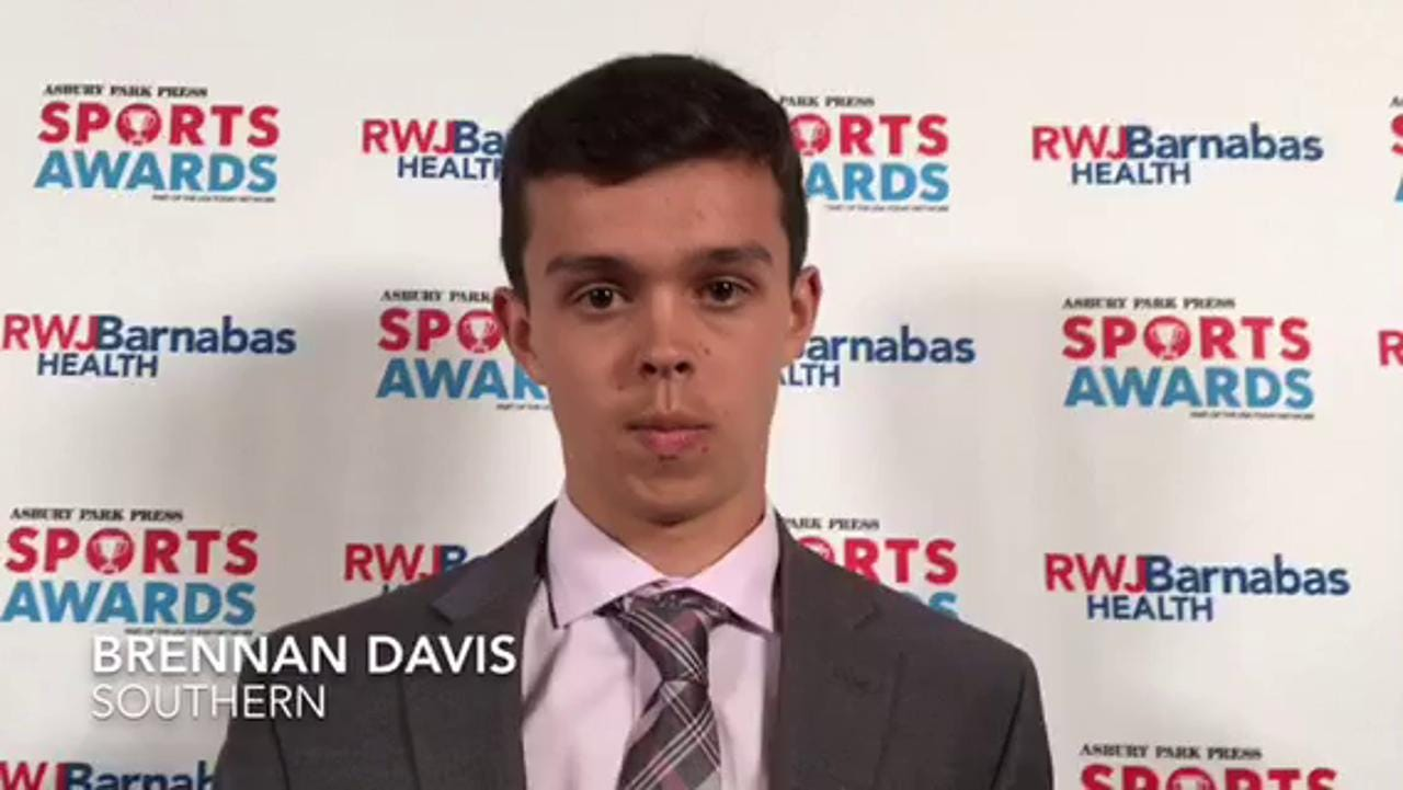WATCH: Southern's Brennan Davis give the credit to his teammates for his success
