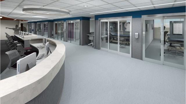 low priced 48382 e8948 RWJUH in New Brunswick undergoes Emergency Department expansion project