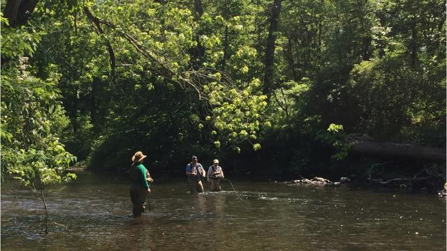 WATCH: Veterans on the Musconetcong River come to heal